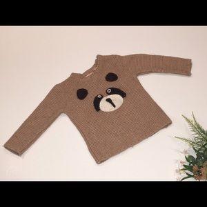 Zara Baby Bear Face Sweater 12-18 months